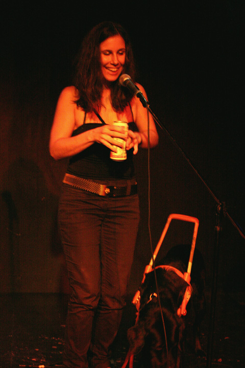 Godin performing at Collective:Unconscious circa 2005.
